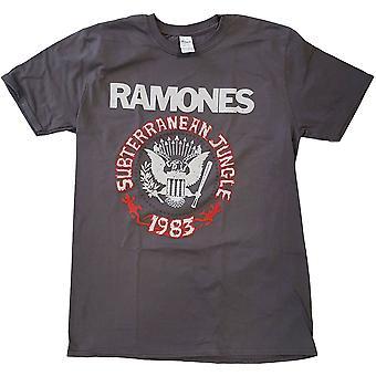 Ramones Subterraneun Jungle Official Tee T-Shirt Unisex