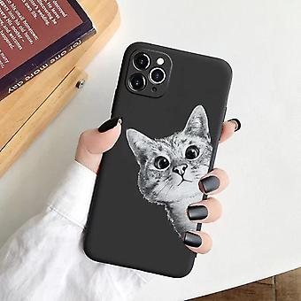iPhone 12 Pro Max shell avec amant chat drôle chat