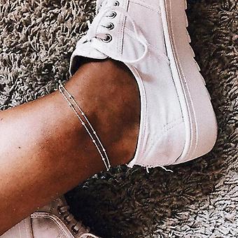 Foot Leg Ankle Bracelet, Handmade Beaded, Ocean Beach Anklets
