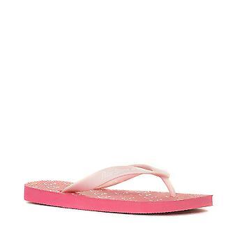 New Peter Storm Girl's' Love Me Flip Flops Pink