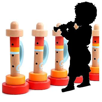 Wooden Trumpets,music Toys For Kids And Toddlers, Fun Musical Instruments Noise Makers