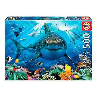 Puzzle White Shark Educa (500 stuks)