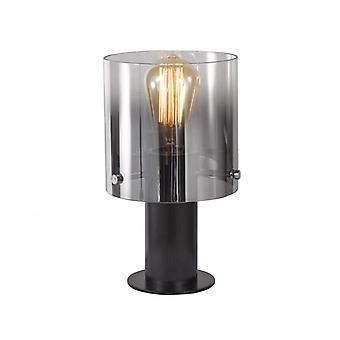 Lámpara de Escritorio Moderno Javier Negro, Ahumado