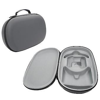 Oculus Quest 2 Vr Headset Travel Carrying Case Hard Eva Storage Box Bag (gray)