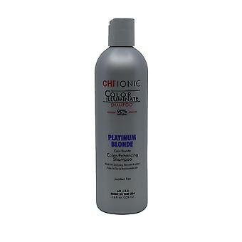 CHI Ionic Color Enhancing Shampoo PH 5.5 Platinum Blonde Cool Blonde 12 OZ