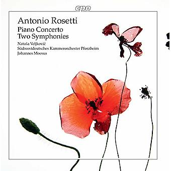 Rosetti / Veljkovic / Moesus - Piano Concerto & twee symfonieën [CD] USA import