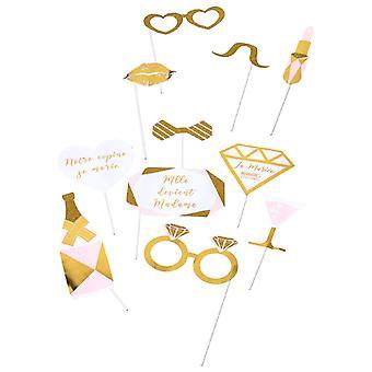 Miss photobooth kit wordt madame 11 accessoires