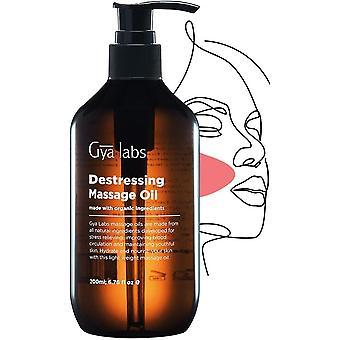 Entstressing Massageöl (6.76 Fl Oz / 200ml) zur natrlichen Entspannung der Hautpflegemuskulatur und