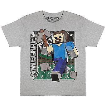 Minecraft Girls Steve Camiseta angustiada