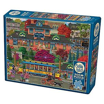 Cobble hill puzzle - trolley station  - 500 pc