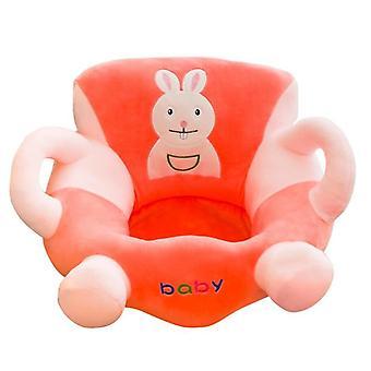 Mjuk baby soffa täcka huden barn lär sig att sitta stol.