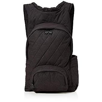 MorikukkoMorikukko Hooded Backpack Quilted BlackUnisex - AdultoZainiMulticolore (Quilted Black)33x8x40 Centimeters (W x H x L)