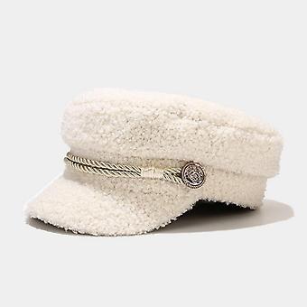 Зимние женщины Мода береты Шляпа, Стиль берет Cap