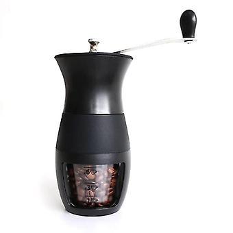 Kaffemaskin rostfritt stål manuell kaffekvarnar