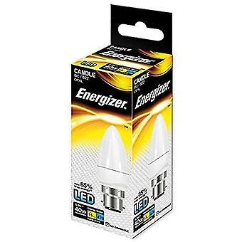 ENERGIZER LED S8850 CANDLE 470LM Energibesparande glödlampa
