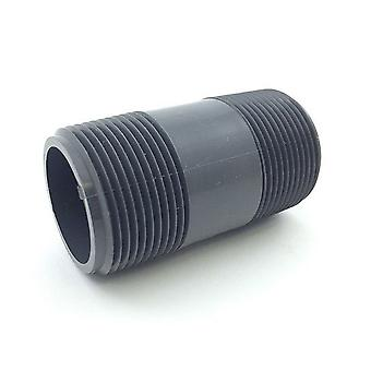 "Lasco 220-030 2"" x 3"" PVC Schedule 80 Nipples TBE - Gray"