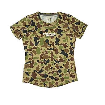 SAYSKY Womens Camo Combat Short Sleeve T-Shirt