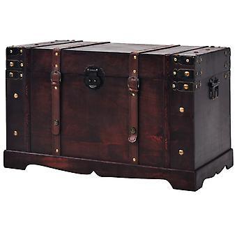 vidaXL Vintage Treasure Chest Wood 66 x 38 x 40 cm