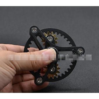Vaihteet Fidget Spinner, Metalli messinki sormi spinner, Käsi lelu, Edc Spinning Top,