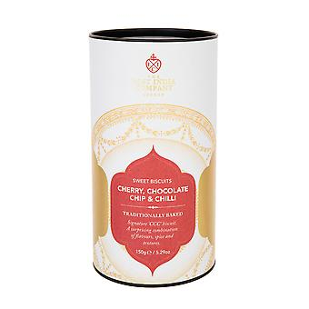 The East India Company - Cherry, Chocolate and Chilli (CCC) Sweet Biscuits 150g