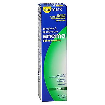 Sunmark Sunmark Complete & Ready-To-Use Enema Saline Laxative, 4.5 Oz