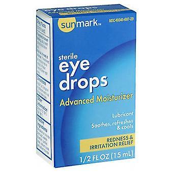 Sunmark Sunmark Eye Drops, Advanced Releif 0.5 oz