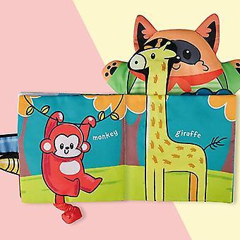 طفل الكرتون الحيوان الذاكرة لدغة دمية كتاب القماش