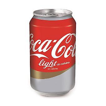 Osvěžující nápoj Coca-Cola Light Bez kofeinu (33 cl)