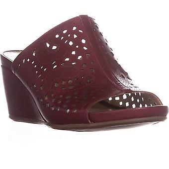 Naturalizer Womens Peep Toe Casual Mule sandaler