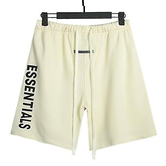 Fear Of God Essentials Shorts Men's And Women's Double-line Side Silicone Letters
