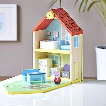 Leikkisetti Bandai Peppa Pig House Wood (20 x 30 x 11 cm)