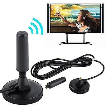 Nieuwe Indoor Gain 30dbi Digitale Dvb-t /fm Freeview Antenne Pc Voor Tv Hdtv