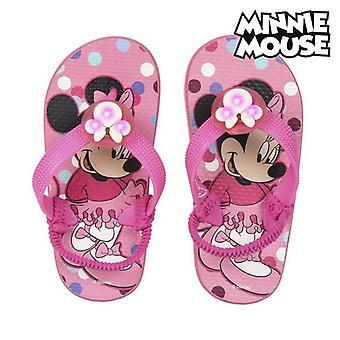 Infradito per bambini Minnie Mouse Pink