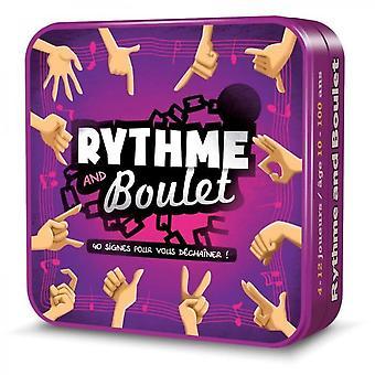 Asmodee - Rhythm & Boulet - Jogo de Tabuleiro