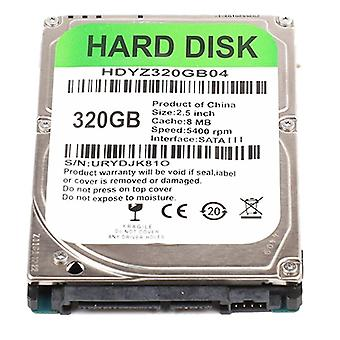 2.5 Inch Sata Iii Pc Hard Drive 320gb Internal Hdd For Household Computer Accessories