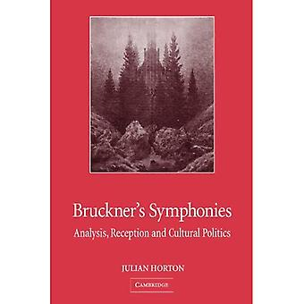 Bruckner's Symphonies: Analysis, Reception, Cultural Politics
