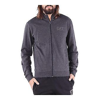 Men's Sports Jacket Armani Jeans 6ZPM54 PJ05Z Grey Cotton