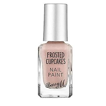 Barry M # Barry M Frosted Cupcakes Nail Paint-Strawberries & Cream #DISCON