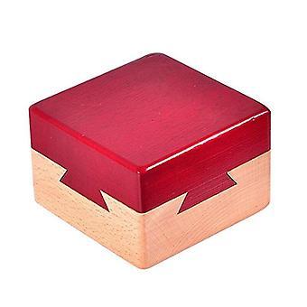 Mini 3D Łamigłówka Łamigłówka Drewniane magiczne szuflady Puzzle Toy Model Building Kits Box| Zestawy do budowania modeli