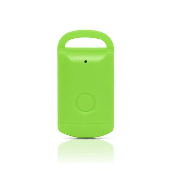 Valise en forme de Bluetooth Key Finder GPS Locator Anti-lost Alarm/Tracker, Vert
