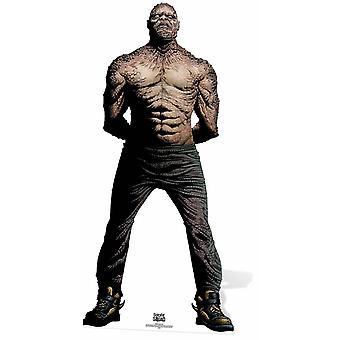 Killer Croc Suicide Squad sarjakuva taidetta Lifesize pahvi automaattikatkaisin / seisoja / Stand Up