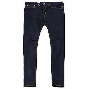 Edwin Jeans Slim Avsmalnande Grön X Vit Selvedge Denim - Blå sköljd