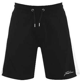 Fabric Mens Panel Shorts Fleece Lightweight Drawstring 3 Pockets Casual Bottom