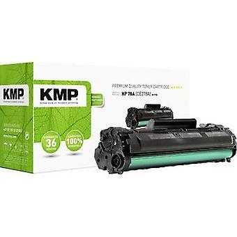 El cartucho de tóner KMP H-T152 reemplazó al cartucho de tóner compatible con los lados HP 78A, CE278A Black 2100