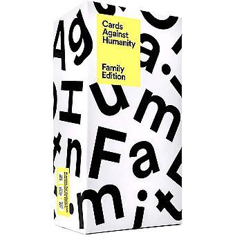 Kort mot menneskeheten: Familieutgave Den faktiske, virkelige, offisielle familieutgaven av Cah
