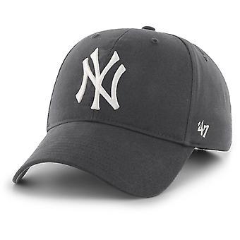 47 Brand New York Yankees MVP Baseball Cap Charcoal 85