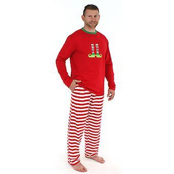 Kerstmis Elf Pyjama Set Family Matching Xmas Nightwear Sleepwear