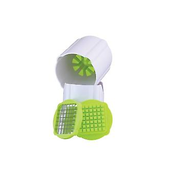 Multi Chopper Chipper Plastic Green Ideal For Making Fries Chopping Vegetables
