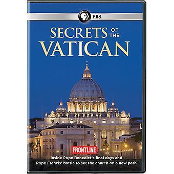Front: Geheimnisse des Vatikans [DVD] USA importieren