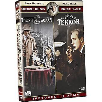 Spider Woman/Voice of Terror [DVD] USA import